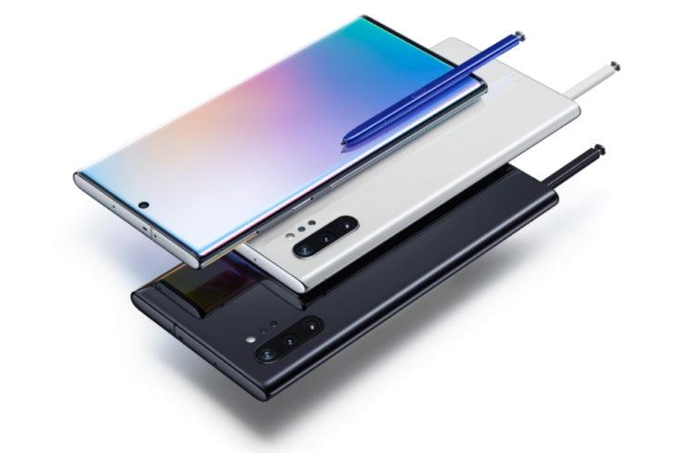 Samsung Galaxy Note 10 e Note 10 Plus