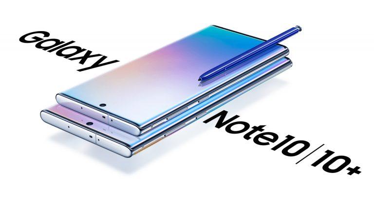 Samsung Galaxy Note10 e Note10+