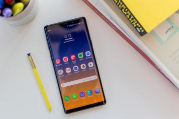 Samsung Note9 schermo