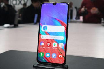 Samsung A40 fronte schermo