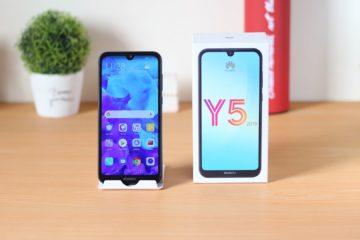 Huawei Y5 2019 con scatola