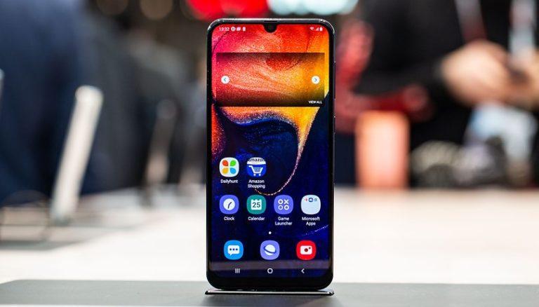 Samsung A50 fronte