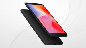 Xiaomi Redmi 6A, immagine di presentazione