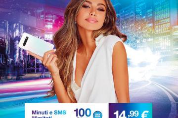 Offerte Tre con 100 giga, minuti e sms illimitati a 14,99€