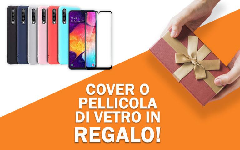 Cover in regalo per Samsung A50