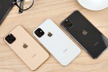 iPhone 11 e 11 Pro su tavolo