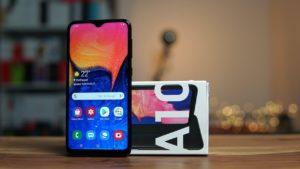 Samsung A10 con scatola