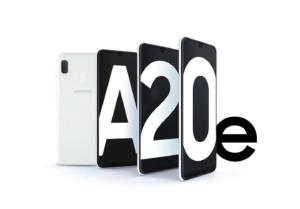 Samsung A20e colore bianco